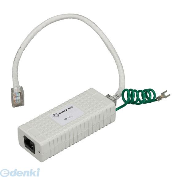 【個数:1個】【キャンセル不可 - 納期約2週間】ブラックボックス BLACK BOX SP529A CAT6 インラインサージ保護装置【送料無料】