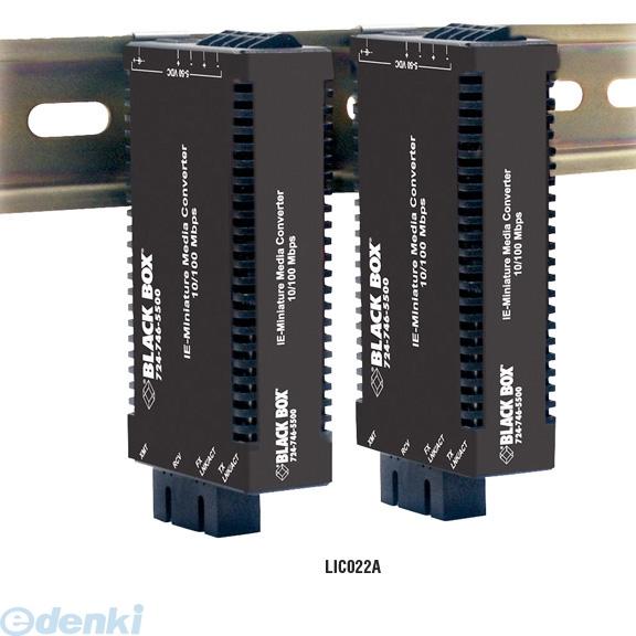 【キャンセル不可 - 納期約2週間】ブラックボックス BLACK BOX LIC022A-R2 マルチパワM/C 10/100 MM1300ST2KM LIC022AR2【送料無料】