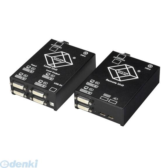 【キャンセル不可 - 納期約2週間】ブラックボックス BLACK BOX ACS4201A-R2-SM DVI-DファイバエクステンダUSBデュアルモニタ ACS4201AR2SM【送料無料】