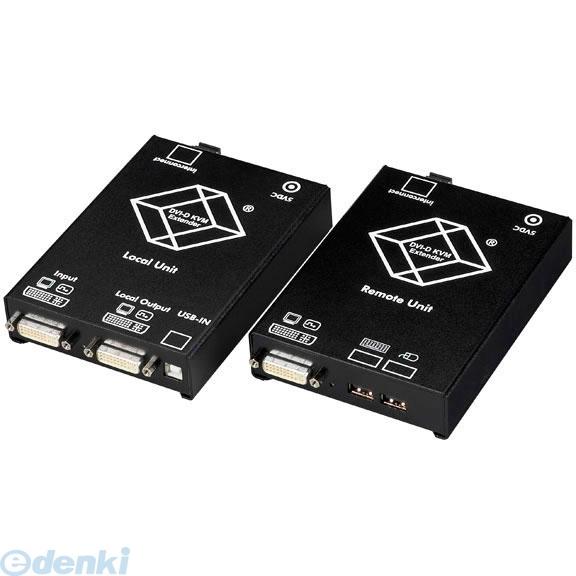 【キャンセル不可 - 納期約2週間】ブラックボックス BLACK BOX ACS4001A-R2-SM DVI-DファイバエクステンダUSBシングルモニタ ACS4001AR2SM【送料無料】