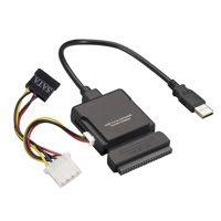 【個数:1個】【キャンセル不可 - 納期約2週間】ブラックボックス BLACK BOX IC661A USB2.0-IDE/S-ATAコンボ・アダプタ IC-661A【送料無料】