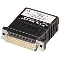 【個数:1個】【キャンセル不可 - 納期約2週間】ブラックボックス BLACK BOX ME721A-M-R3 非同期構内モデム無電源 オス ME721AMR3【送料無料】