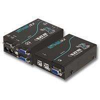 【キャンセル不可 - 納期約2週間】ブラックボックス BLACK BOX [ACU5051A] USB KVMエクステンタ オーティオ/1ビデオ ACU-5051A