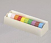 6-691-02 カラーテープ K-250 10色セット 669102