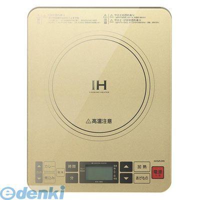 コイズミ[KIH1403-N]IHクッキングヒーター ゴールドKIH1403N