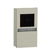 日東工業 [PHE-10SN] 「直送」【代引不可・他メーカー同梱不可】盤用熱交換器・Sタイプ・側面取付型 樹脂製ファンタイプ PHE10SN
