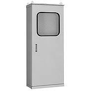 日東工業 SOEM35-714 直送 代引不可・他メーカー同梱不可 ステンレス屋外用窓付自立制御盤キャビネット SOEM35714