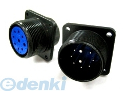 DDK 第一電子工業 D/MS3102A16-11P D264 MIL-DTL-5015 MSタイプ丸形コネクタ バヨネットロック式 5個入 D/MS3102A1611PD264