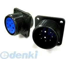 DDK 第一電子工業 D/MS3102A28-6P MIL-DTL-5015 MSタイプ丸形コネクタ D/MS3102A28シリーズ 5個入 D/MS3102A286P