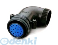 DDK(第一電子工業) [D/MS3108B32-5S] MSタイプ丸形コネクタ L型プラグ(分割シェル)D/MS3108Bシリーズ (5個入) D/MS3108B325S