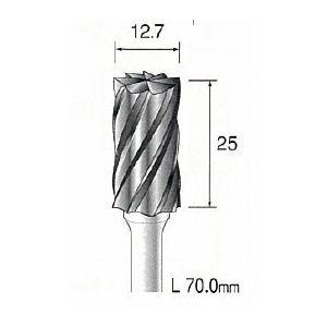 ミニター MINITOR BC5103 超硬カッター アルミカット φ12.7 BC-5103