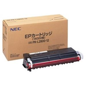 直送・代引不可NEC トナーカートリッジ 純正 【PR-L2800-12】 レーザープリンタ用 モノクロ別商品の同時注文不可