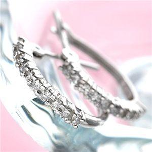 直送・代引不可0.2ctダイヤハーフエタニティピアス ダイヤモンドピアス別商品の同時注文不可