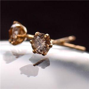 直送・代引不可18K0.2ctダイヤモンドピアス別商品の同時注文不可