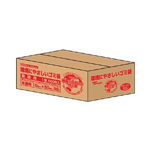 直送・代引不可【業務用パック】オリジナルゴミ袋 半透明 90L 1箱(600枚)別商品の同時注文不可