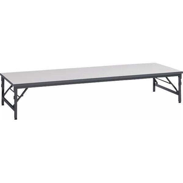 直送・代引不可ゼミテーブル座卓 TAB-1860 ライトグレー別商品の同時注文不可