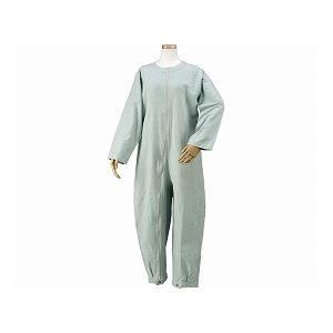 直送・代引不可 ハートフルウェアフジイ つなぎパジャマ /HP06-100 M 01グリーン 別商品の同時注文不可