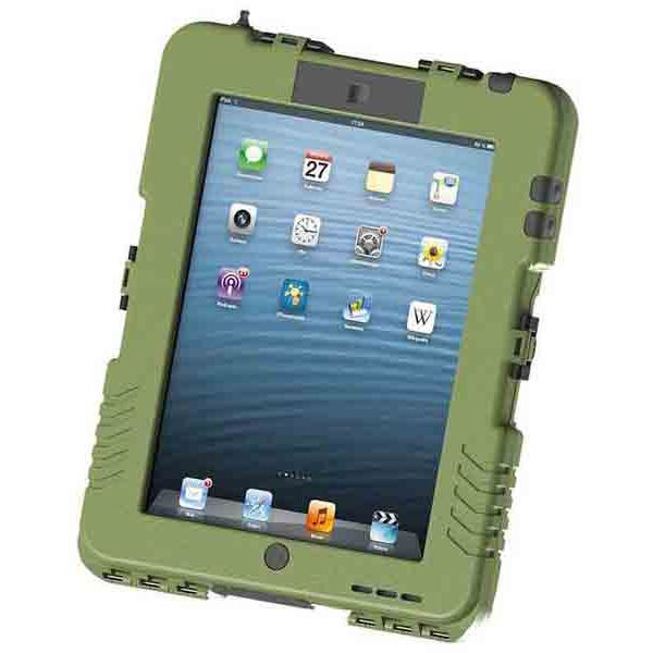 直送・代引不可Andres Industries(アンドレス) 防水型iPadケース アイシェル(タクティカルブルー)【日本正規品】 AG290004別商品の同時注文不可
