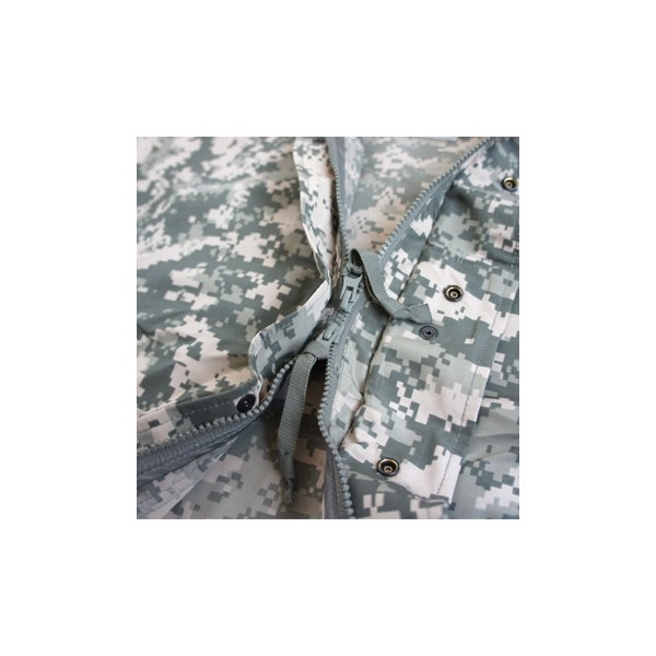 直送・代引不可アメリカ軍 ソフトシェルパーカー  超軽量/ショート丈 ECWC S-1 JP059YN フォリッジ  別商品の同時注文不可