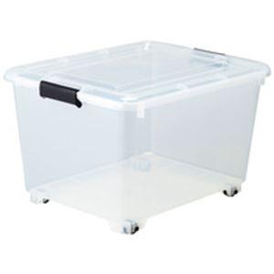 直送・代引不可コロ付クリアボックス 10個組別商品の同時注文不可