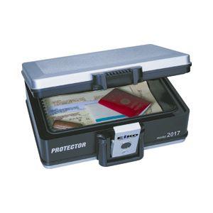 直送・代引不可 エイコー 耐火防水収納ケース A4対応・シリンダー錠 別商品の同時注文不可