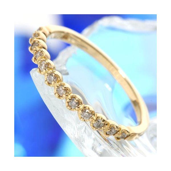 直送・代引不可K18 ダイヤリング 指輪 エタニティリング 7号別商品の同時注文不可