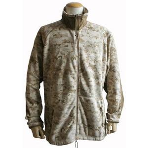 直送・代引不可アメリカ軍 海兵隊放出 PO LARTEC フリースジャケット 【 Mサイズ 】 デザート 〔未使用デッドストック〕別商品の同時注文不可