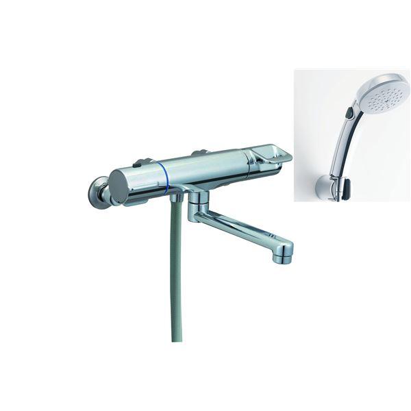 【使い勝手の良い】 RBF-717W別商品の同時注文:測定器・工具のイーデンキ サーモスタット付シャワーバス水栓(エコフルスイッチ付き多機能シャワー) 直送・LIXIL(リクシル)-木材・建築資材・設備