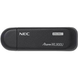 通信 ネットワーク機器 無線LAN 期間限定特別価格 2020秋冬新作 無線LANカード アダプタ 代引不可NEC AtermWL900U 直送 USB子機 PA-WL900U別商品の同時注文不可