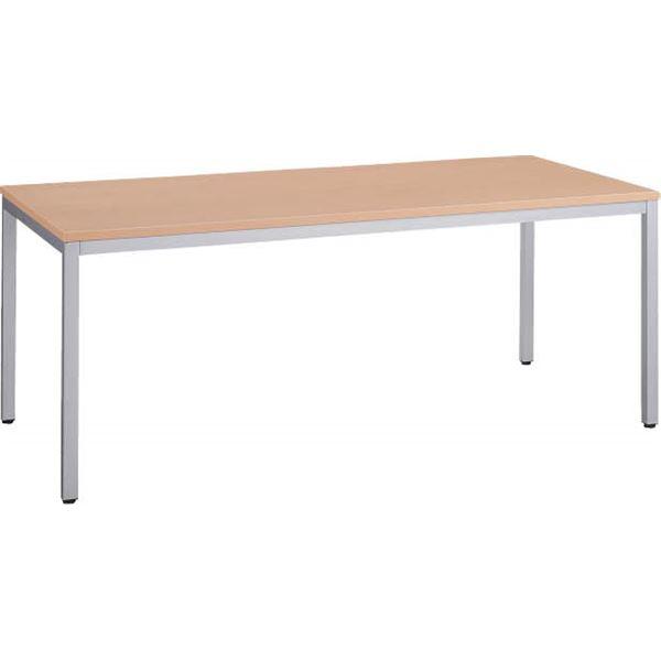 直送・代引不可ミーティング用テーブル AD-1880 ナチュラル別商品の同時注文不可