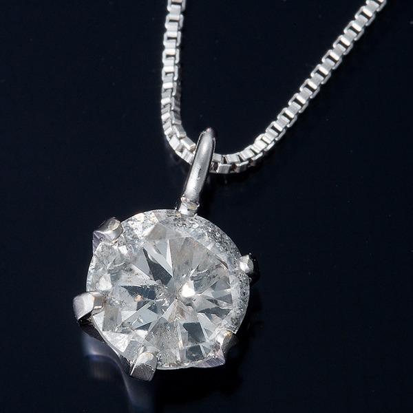 直送・代引不可純プラチナ 0.3ctダイヤモンドペンダント/ネックレス ベネチアンチェーン別商品の同時注文不可