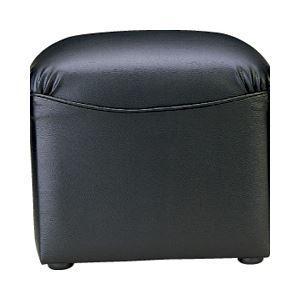 直送・代引不可アイコ 応接椅子 スツール ボックスタイプ レザー別商品の同時注文不可