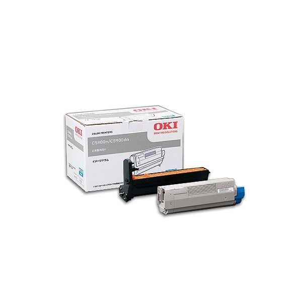 直送・代引不可沖データ OKI イメージドラム シアン トナーカートリッジ付属 ID-C4DC 1個別商品の同時注文不可