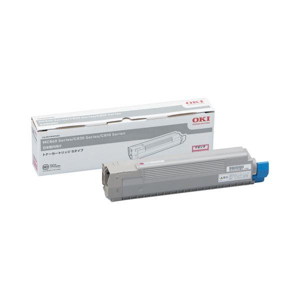 直送・代引不可沖データ OKI トナーカートリッジS マゼンタ TNR-C3KM3 1個別商品の同時注文不可