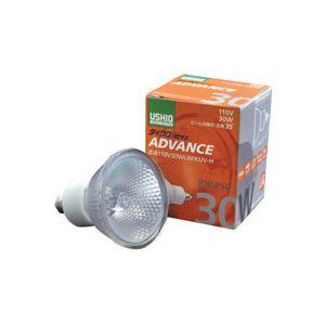 直送・代引不可(まとめ)ダイクロハロゲンアドバンス JDR110V30WLW/KUV-H 広角 30W 10個入別商品の同時注文不可