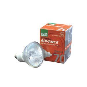 直送・代引不可(まとめ)ダイクロハロゲンアドバンス JDR110V70WLW/KUV-H 広角 70W 10個入別商品の同時注文不可