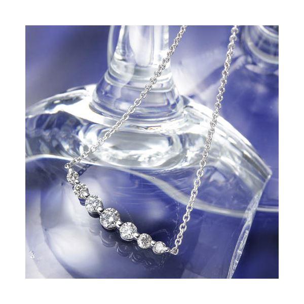 直送・代引不可0.5ctティアラダイヤモンドペンダント/ネックレス別商品の同時注文不可