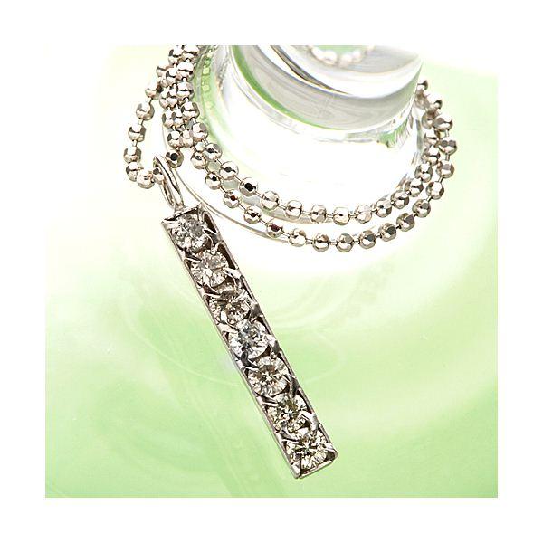 直送・代引不可すっきり7粒ダイヤ☆プラチナ900トップダイヤ計0.2ctペンダント別商品の同時注文不可