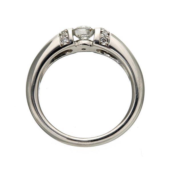 直送・代引不可プラチナPt900 /0.28ctダイヤリング 指輪 15号別商品の同時注文不可