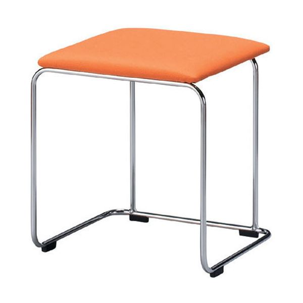 直送・代引不可ジョインテックス 多目的スツール FS-150 オレンジ別商品の同時注文不可