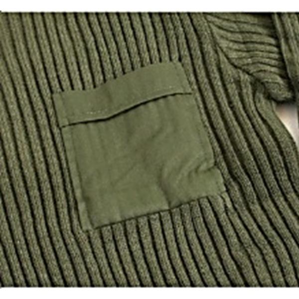 直送・代引不可米軍 タイプコマンドセーターレプリカ オリーブ Mサイズ別商品の同時注文不可