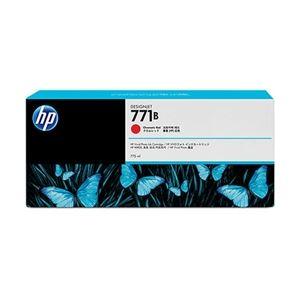 直送・代引不可HP 771B インクカートリッジ クロムレッド B6Y00A別商品の同時注文不可
