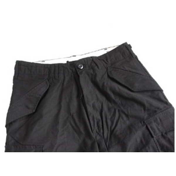 直送・代引不可USタイプ「 M-65」フィールドショート丈パンツ ブラック メンズ Lサイズ  別商品の同時注文不可