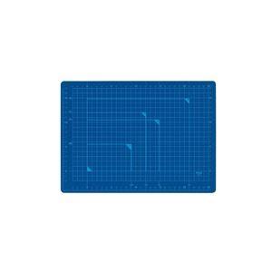 直送・代引不可(業務用100セット) プラス カッターマット A4 BL CS-A4 青別商品の同時注文不可