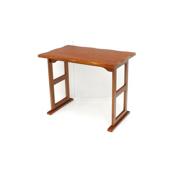 直送・代引不可高座椅子用テーブル(机) 木製 幅80cm×奥行50cm×高さ63.5cm ライトブラウン別商品の同時注文不可