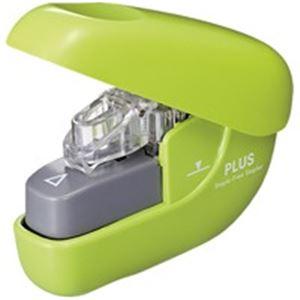 直送・代引不可(業務用100セット) プラス ペーパークリンチ SL-106NB GR 緑別商品の同時注文不可
