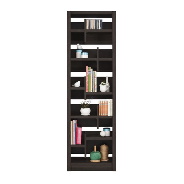 直送・代引不可ユーアイ NEO RAIDER(レイダー) 書棚60 飾り棚 ダークブラウン L-600H DBR【代引不可】別商品の同時注文不可
