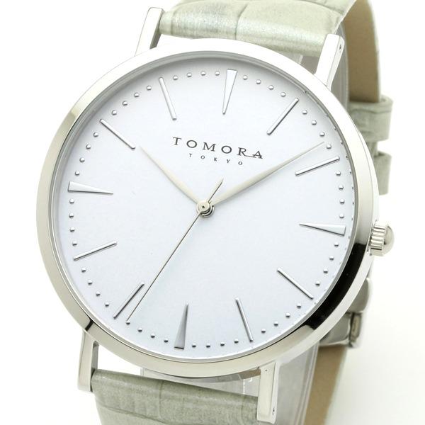 直送・代引不可 TOMORA TOKYO(トモラトウキョウ) 腕時計 日本製 T-1601-SWHGY 別商品の同時注文不可