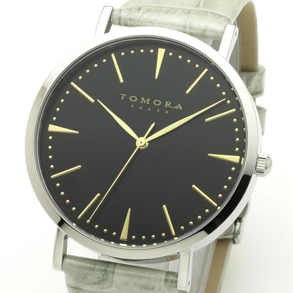 直送・代引不可 TOMORA TOKYO(トモラトウキョウ) 腕時計 日本製 T-1601-GBKGY 別商品の同時注文不可