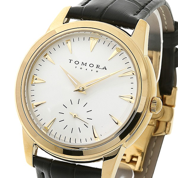 直送・代引不可 TOMORA TOKYO(トモラトウキョウ) 腕時計 日本製 T-1602-GDWH 別商品の同時注文不可